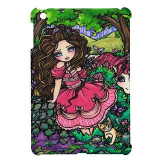 Princess Izzy Fantasy Fairy Unicorn Fairy Art iPad Mini Cover