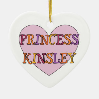 Princess Kinsley Ornament