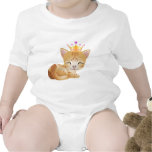 Princess Kittie Cat Gifts T-Shirt Infants Clothing