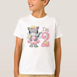 Princess Kitty 2nd Birthday T-Shirt