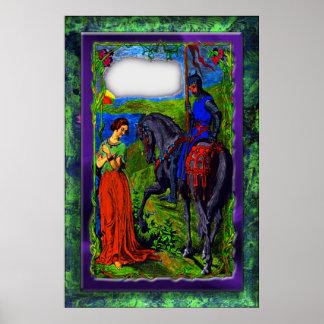 Princess Knight Print