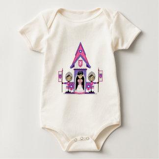 Princess & Knights at Mini Castle Babies Creeper
