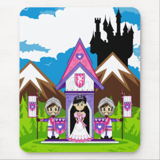 Princess & Knights at Mini Castle Mousepad