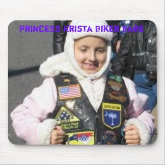 Princess Krista Biker Babe Mouse Mat