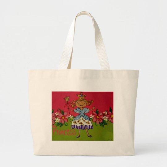 Princess Large Tote Bag