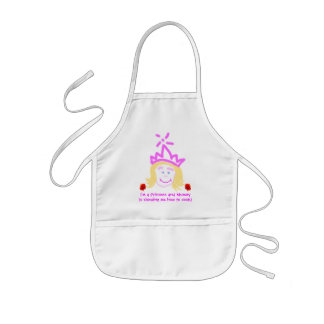 Princess Learning To Cook apron