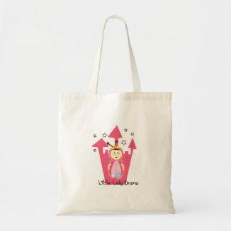 Princess - Little Lady Drama Canvas Bags