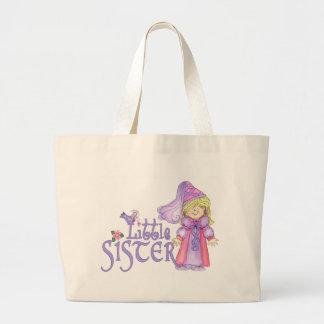 Princess Little Sister Canvas Bags