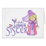 Princess Little Sister Stationery Note Card