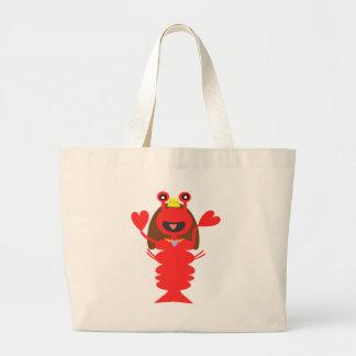 Princess Lobster Jumbo Tote Bag