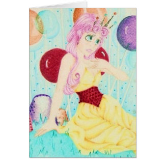 Princess Lolly Card