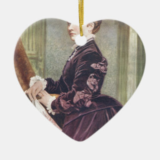 Princess Louise (Duchess of Argyll) Ceramic Heart Decoration