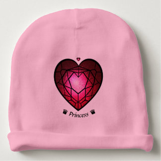 Princess lovely babygirl baby beanie