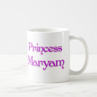 Princess Maryam Coffee Mugs