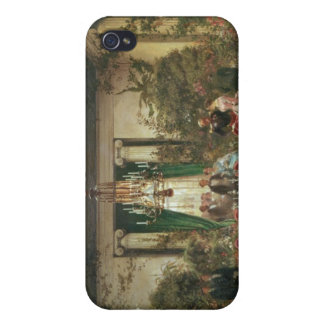 Princess Mathilde's Salle-a-Manger iPhone 4/4S Cover