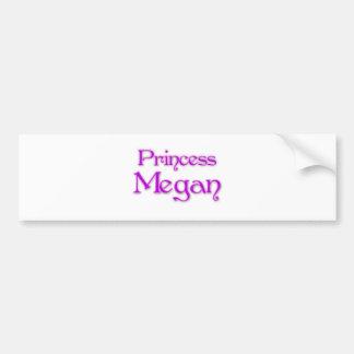 Princess Megan Bumper Stickers