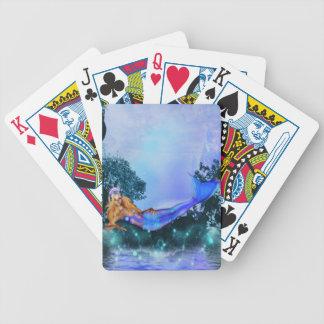 Princess Mermaid Bicycle Playing Cards