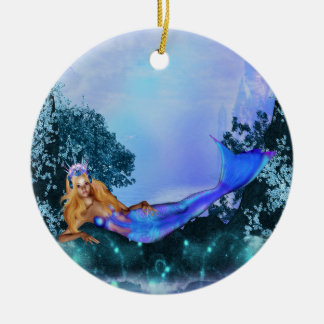 Princess Mermaid Christmas Ornament