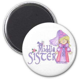 Princess Middle Sister Magnet