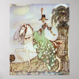 Princess Minon-Minette by Kay Nielsen Print