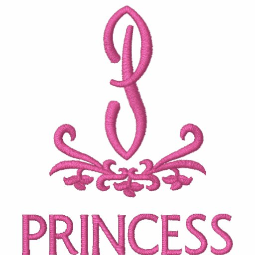 Princess Monogram Birthday Tee