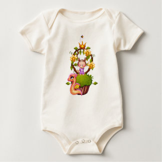 Princess Muffin Baby Bodysuit