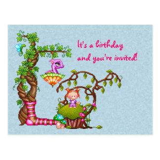 Princess Muffin & Friends Pixel Art Postcard
