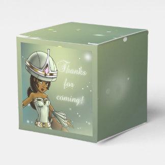 """Princess Naomi Birthday Favor Box Classic 2x2"" Favour Boxes"
