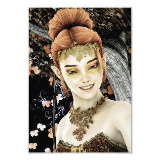 Princess of Autumn Photo Art