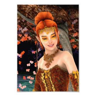 Princess of Autumn Photograph