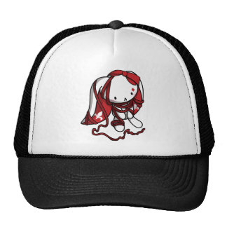 Princess of Diamonds White Rabbit Cap