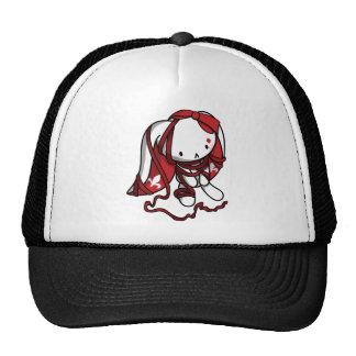Princess of Diamonds White Rabbit Trucker Hat
