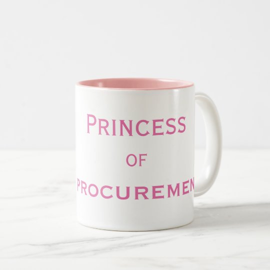 Princess of Procurement Special Female Manager Two-Tone Coffee