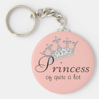 Princess of Quite a Lot Key Chain