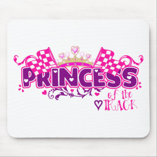 Princess of the Track Mouse Pads