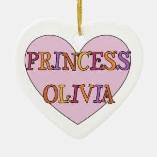 Princess Olivia Ornament