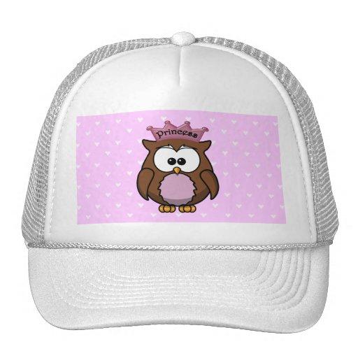princess owl hat