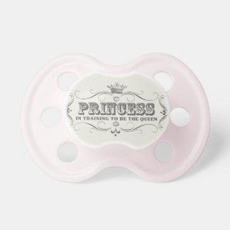 Princess pacifer baby pacifiers
