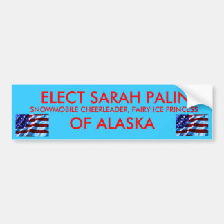 Princess Palin Bumper Sticker