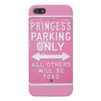 Princess parking only case for iPhone 5/5S