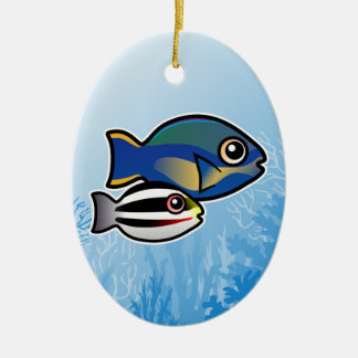 Princess Parrotfish Christmas Ornament