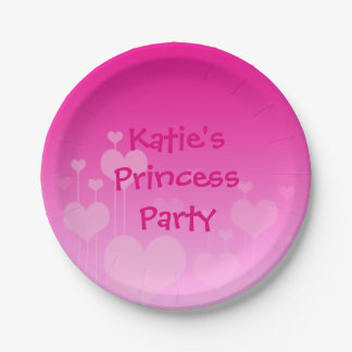Princess party plate