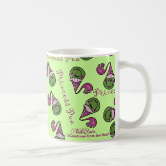 Princess Pea Basic White Mug