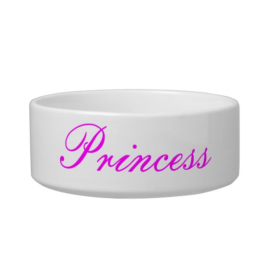 """Princess"" Pet Bowl"