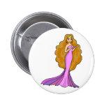 Princess Pinback Button