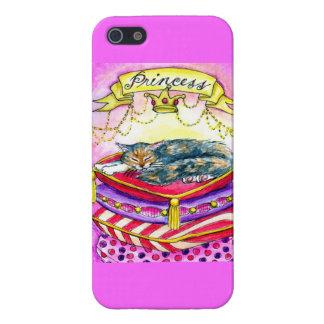 Princess pink cat kitten iPhone 5/5S cases