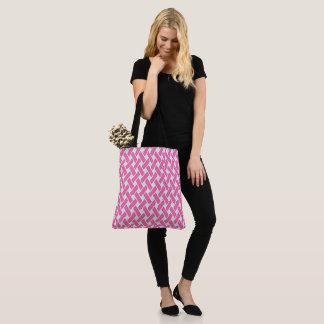 Princess Pink Pattern Tote Bag