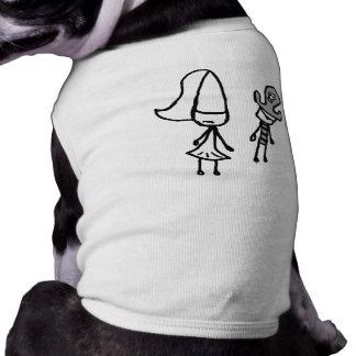 Princess & Pirate Doodle Pet Clothes