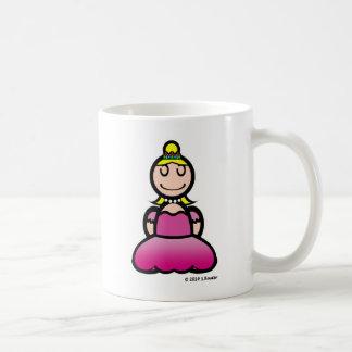 Princess (plain) coffee mug