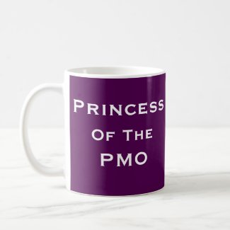 Princess PMO Woman Project Manager Funny Name